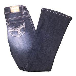 Hydraulic Metro Flare dark wash Jeans size 5/6